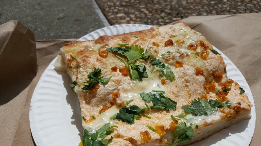 Tony Baloneys Mexican Street corn pizza