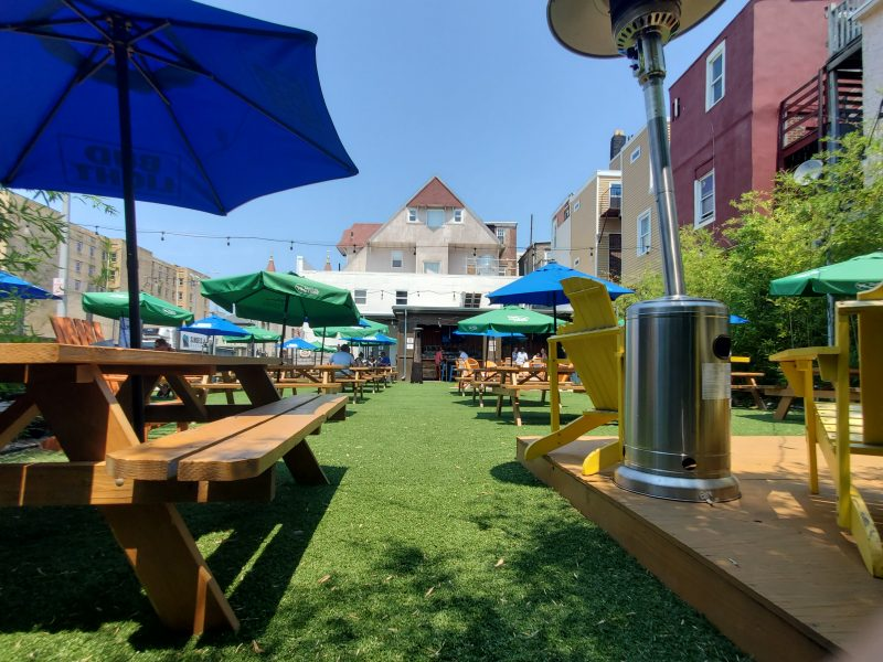 Tennessee Avenue Beer Hall Best outdoor dining in AC