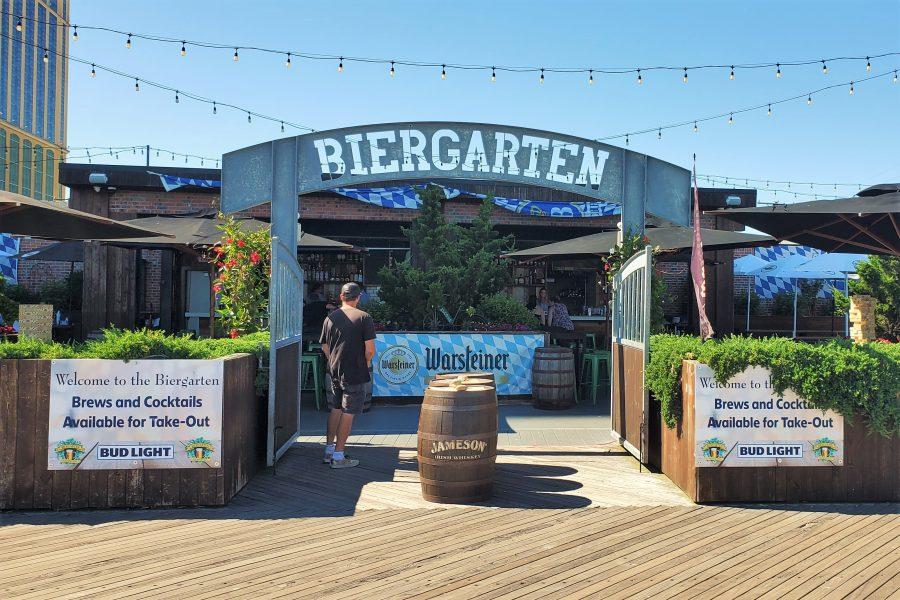 Biergarten Atlantic City outdoor seating