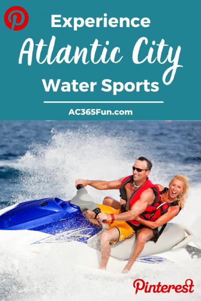 Water Sports Atlantic City Pin